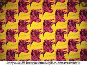warhol cow - Andy Warhol e sua relação com a serigrafia